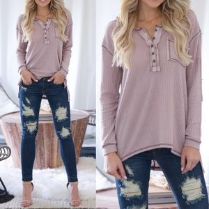 VERONICA Softest Thermal Top - MAUVE